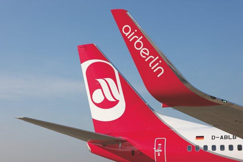 Fliegen mit AirBerlin © AirBerlin
