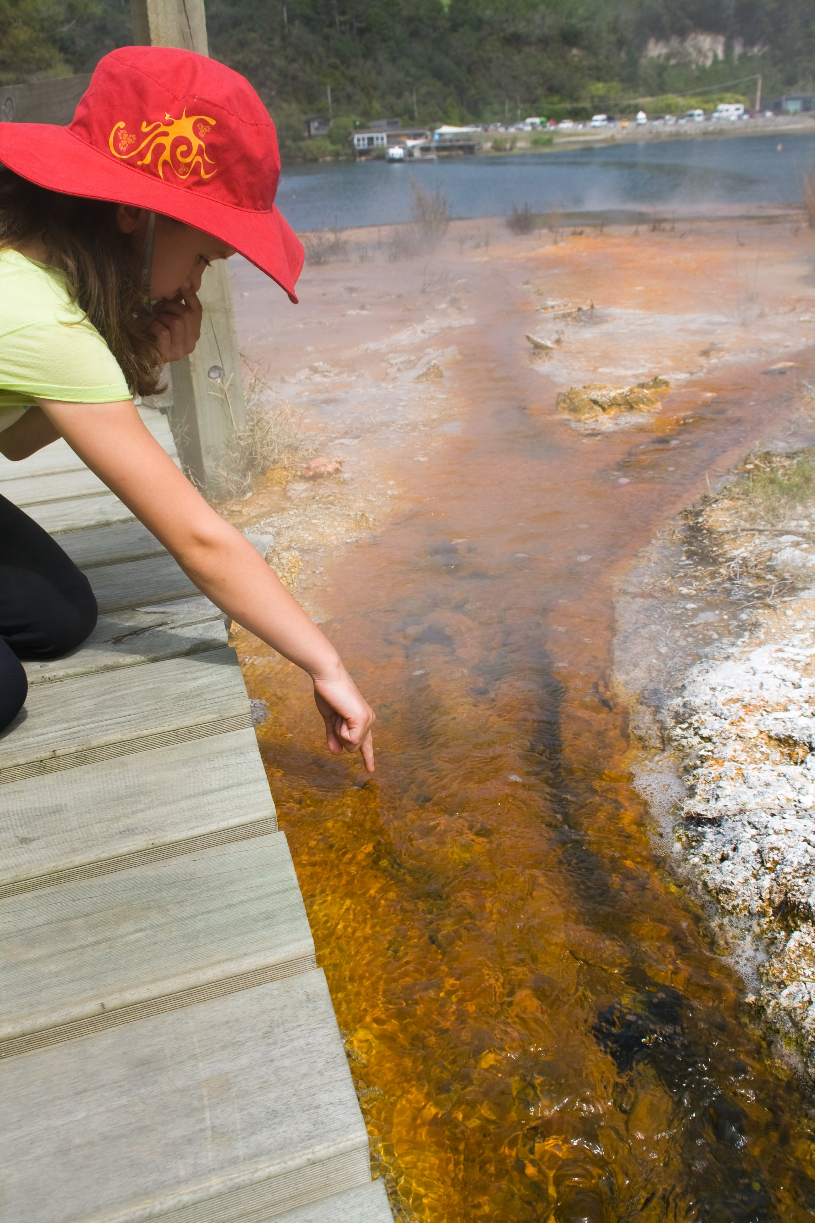 Heiße Sache im Hidden Valley bei Rotorua © Weltwunderer