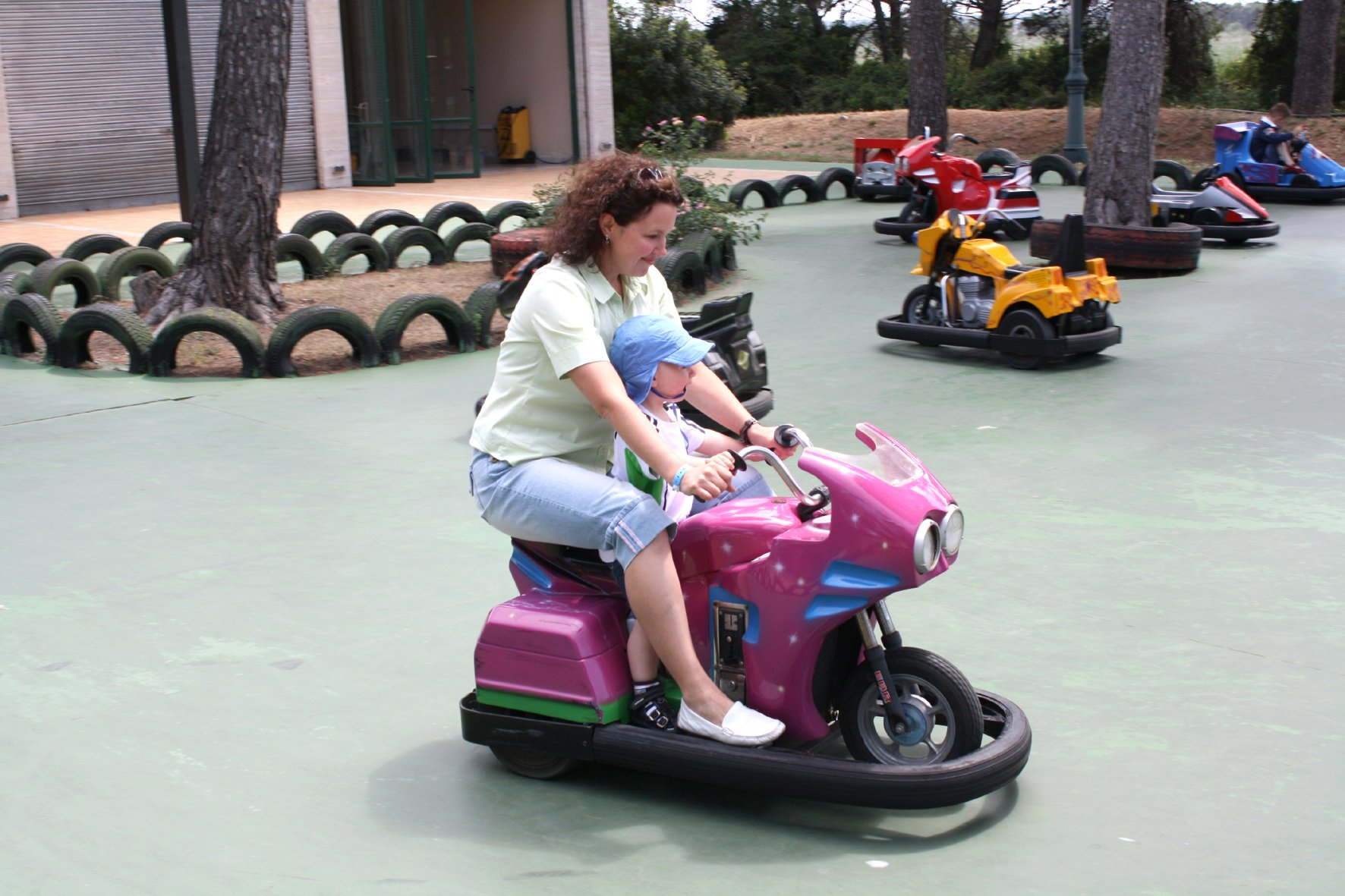 Motorradfahren macht Spaß © PamiP