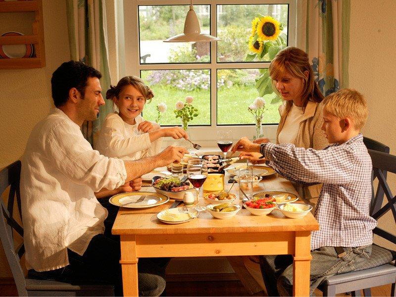 Ferienwohnung im Dorfhotel Fleesensee - Essecke © Dorfhotel Fleesensee