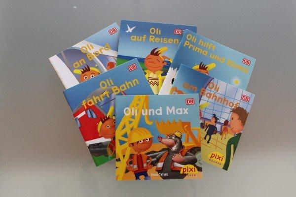 Kostenlose Pixibücher für Kinder bei der Deutschen Bahn