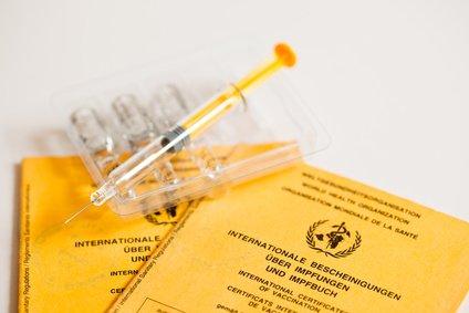 Impfen gehört zur Reisevorbereitung