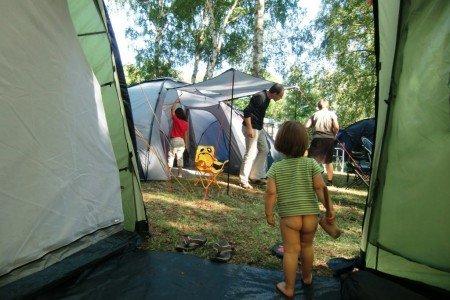 Zelt steht! © Weltwunderer