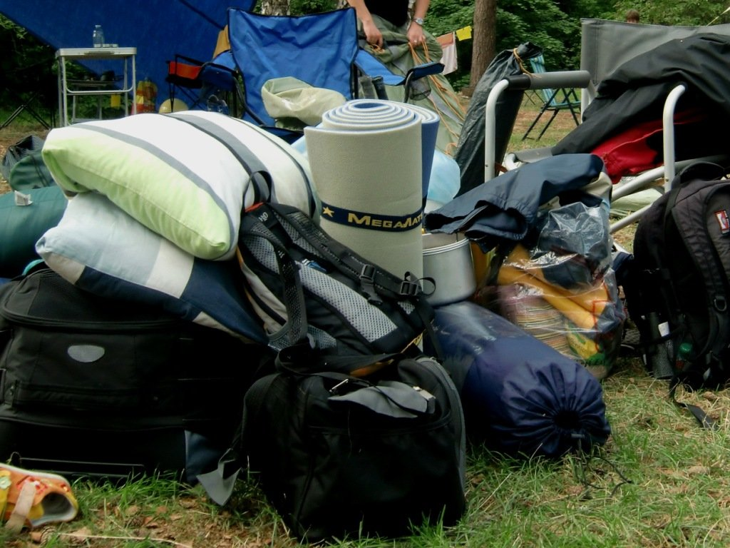 Anfängerfehler: zu viel Gepäck!  © Weltwunderer