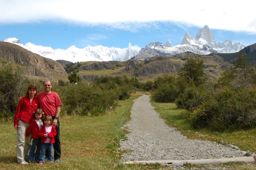 Fitz Roy-Massiv Patagonien, Argentinien - hier wohnen die Pumas