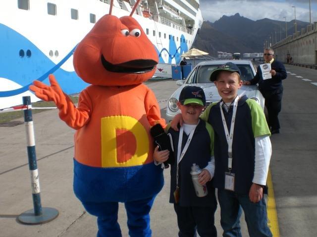 Landausflüge mit Kindern sind auf Kreuzfahrten ein Muss © Kids on Cruise
