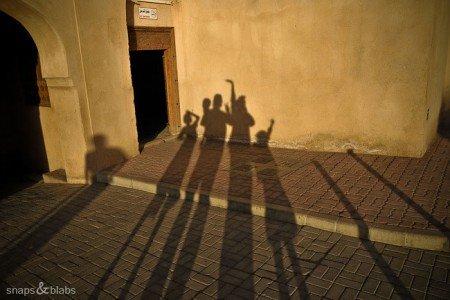 Die Snapping Blabbers im Oman