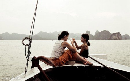 Halong Bay in Vietnam © Snaps and Blabs