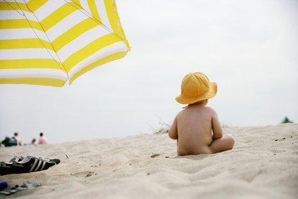 Baby im Schatten - die Mindestvoraussetzung