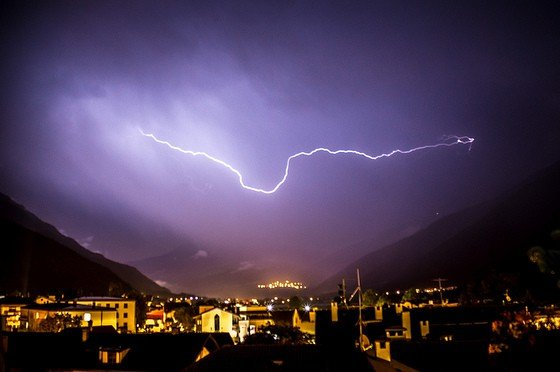 Sommergewitter in Trentino