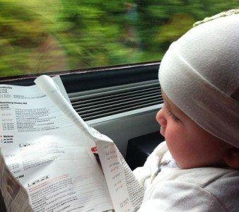 Bahnfahren mit Kind