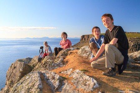 Gemeinsam Berge bezwingen – mit Jugendlichen besonders aufregend © Gabi Reichert