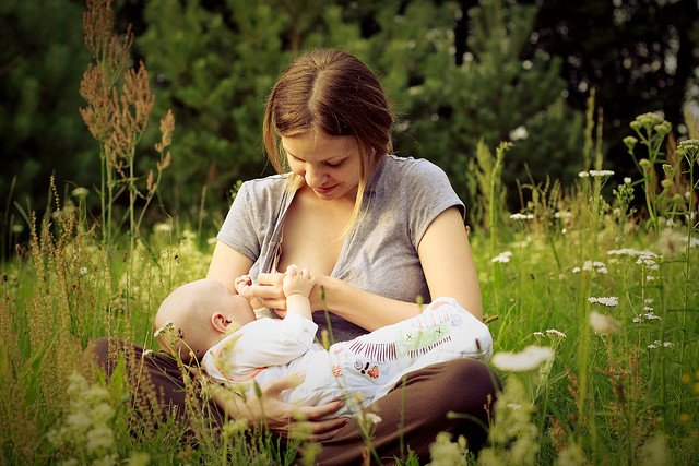 Picknick im Grünen - perfekt für Babys © FlickR/c r z