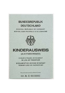 Ist der Kinderausweis für Reisen ins Ausland noch gültig?