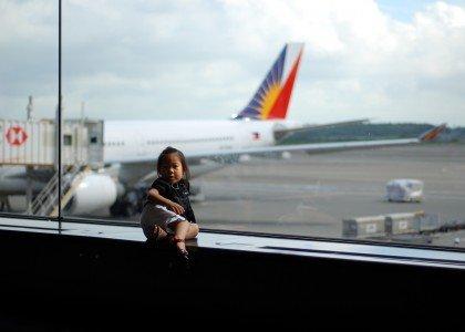 Fliegen mit Kindern - kein Kinderspiel © kidperez/FlickR