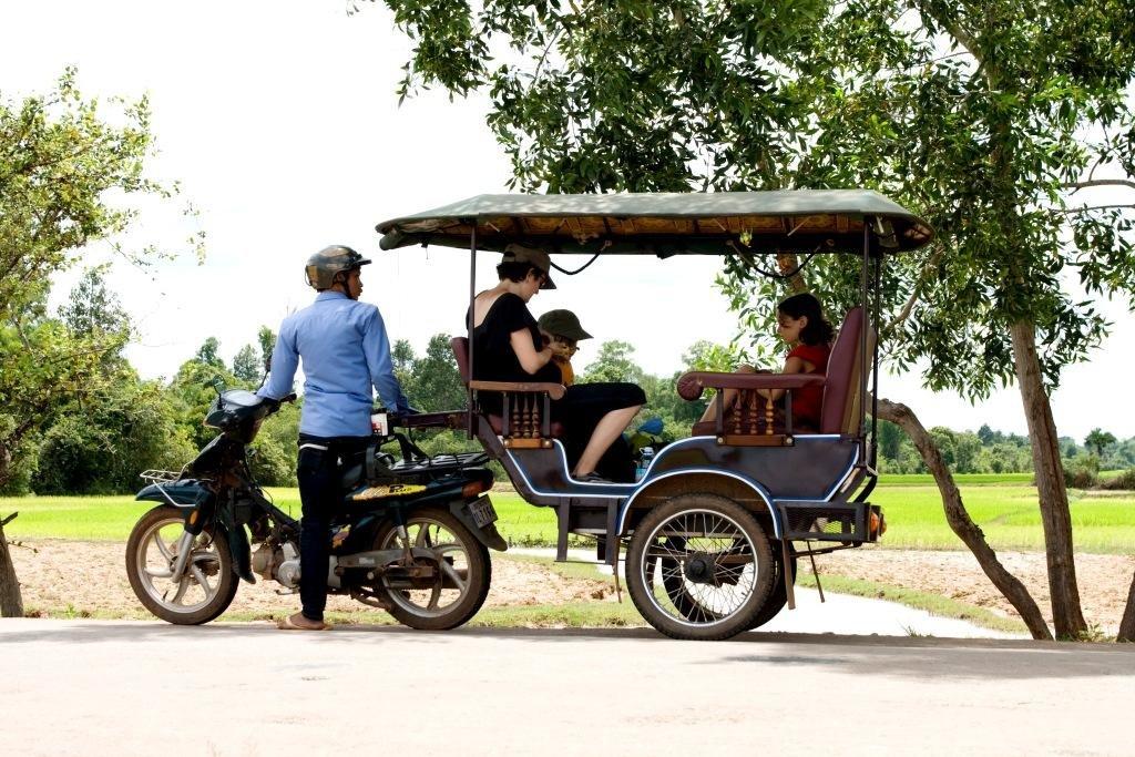 Lokale Verkehrsmittel sind billig und machen Spaß © Weltwunderer