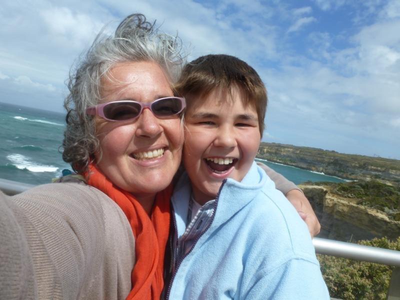 Mama und Sohn auf Weltreise © Margarethe Pfeifer