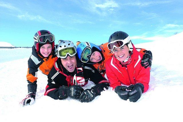 Skiurlaub ja - aber nur gut abgesichert!