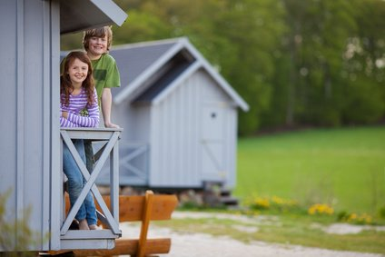 Ferienhäuser - toll für große Familien © contrastwerkstatt - Fotolia.com