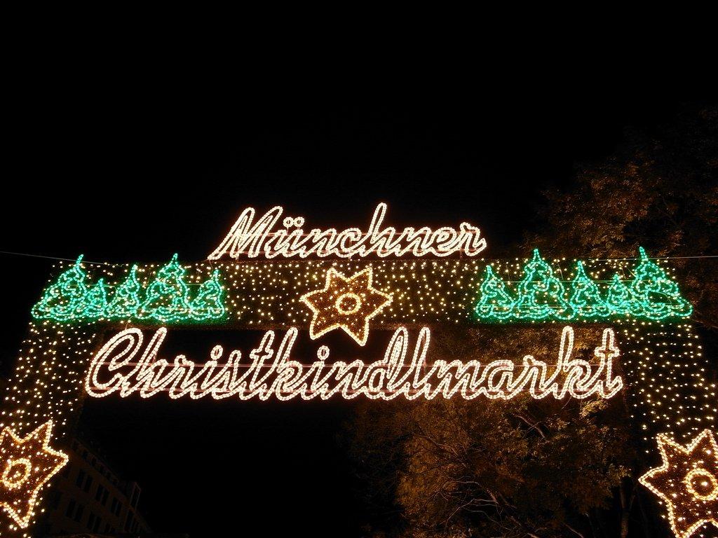 Der Christkindlmarkt in München © Flickr/Otis B. Driftwood