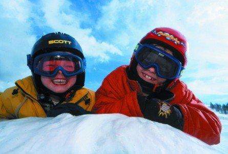 Gut geschützt mit Helm und Brille © FlickR/badkleinkirchheim