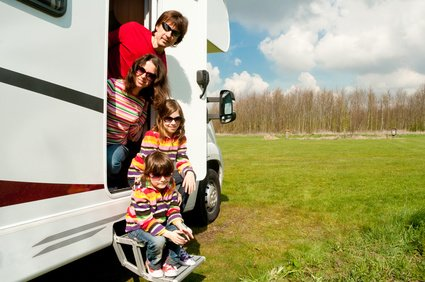 Familienurlaub im Wohnmobil - für viele der perfekte Urlaub © Iuliia Sokolovska - Fotolia.com