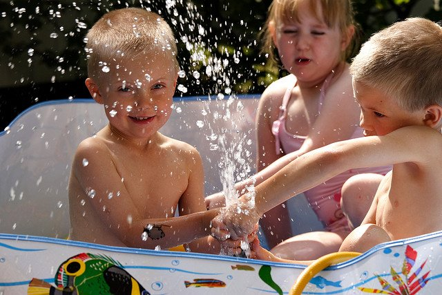 Badespaß ja - aber nur im Pool und im Meer! © FlickR/MiikaS