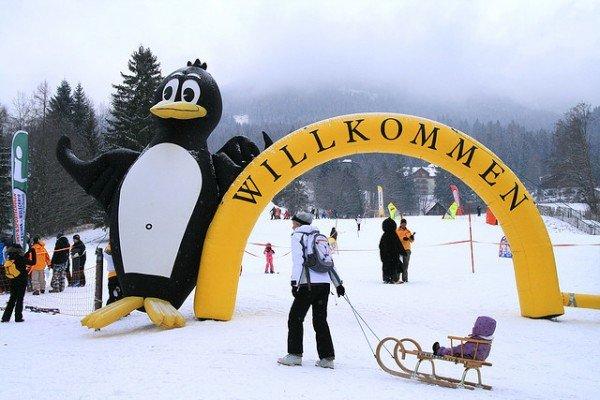 Skischule - toll für Groß und Klein