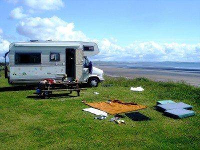 Ferienidyll an der schottischen Küste © Patricia