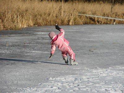 Eislauf-Technik: Die richtige Balance machts © FlickR/Allie_Caulfield