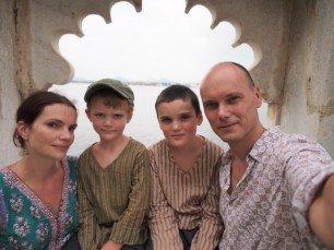 Familie Lilienthal findet Indien toll © Familie Lilienthal