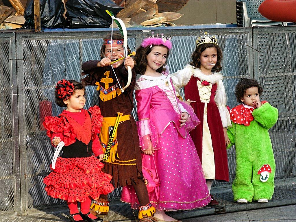 Wer hat das schönste Kostüm? © FlickR/epSos_de