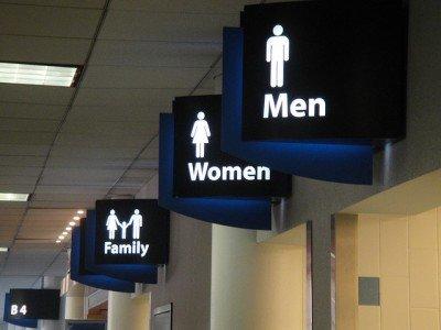 Mann, Frau, Kind - alle müssen mal