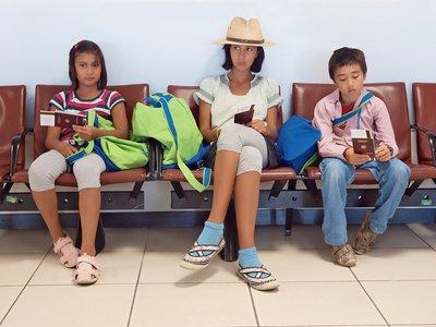 Täglich reisen hunderte Kinder als unbegleitete Minderjährige © Lucky-Dragon - Fotolia.com