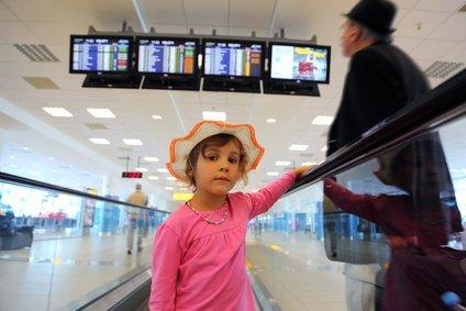 Sicher ist sicher: Kinder unter 12 Jahren fliegen nie ganz allein