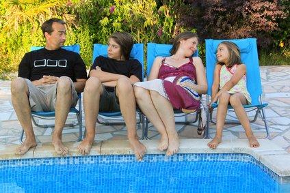 Familiengespräche im Urlaub sind die besten © Eléonore H - Fotolia.com