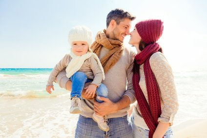 Die Partnerschaft auch im Urlaub mit Kind genießen - das geht!