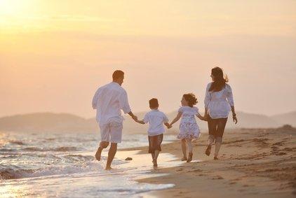 Sonnenaufgang am Strand - zum Glück gibt's Jetlag! © .shock - Fotolia.com