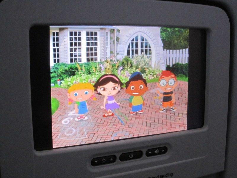 Bordprogramm für Kinder im Flugzeug © KidsAway.de