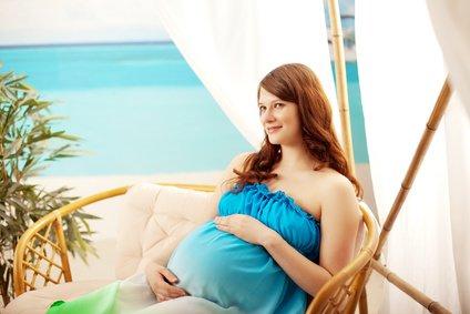 Im zweiten Schwangerschaftsdrittel macht Reisen Spaß © Miramiska - Fotolia.com