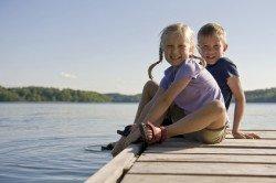 Sind deutsche Badeseen für Familien sicher?