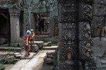 In den Tempeln von Angkor Wat (Kambodscha) © Jenny