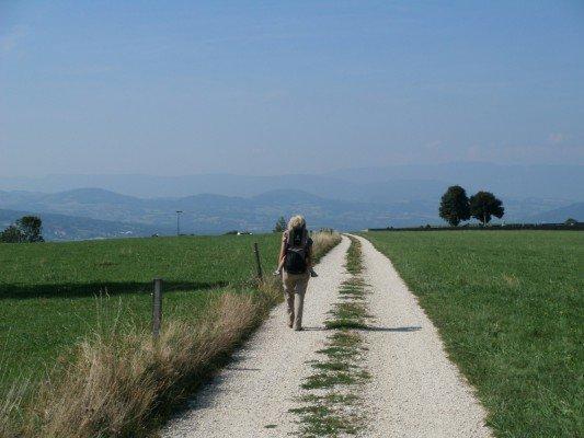 Jakobsweg zu dritt: auf Pilgerpfaden mit Kind und Kegel