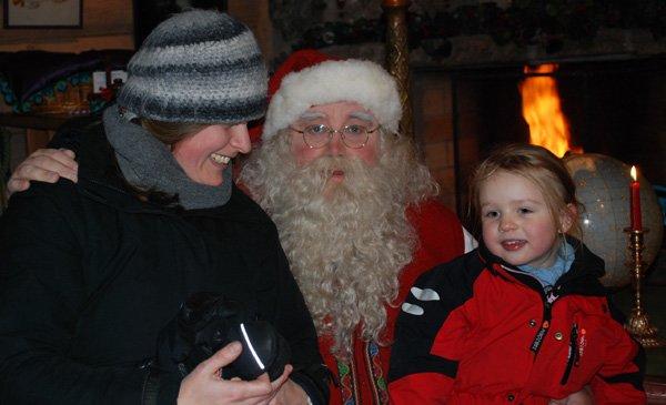 Zu Besuch beim Weihnachtsmann! © Geertje Jacob/nordicfamily