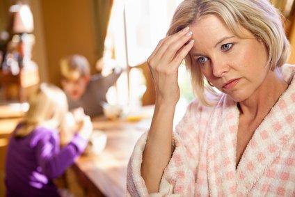 Stress und Überlastung können sich auf die ganze Familie auswirken