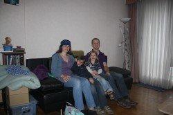 family4travel beim Couchsurfen in Antwerpen