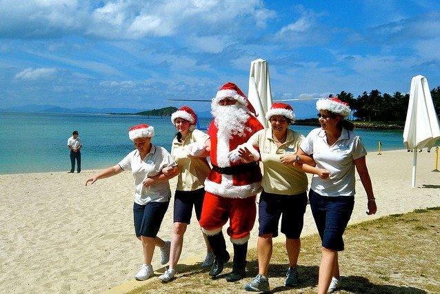 Nach Australien kommt der Weihnachtsmann auch... © Flickr/Sarah Ackerman