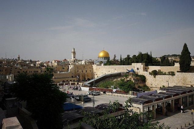 Jerusalem - die Heilige Stadt © Flickr/Emmanuel Dyan