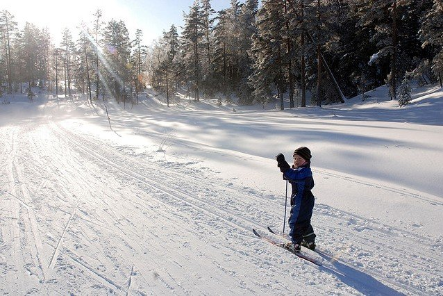 Der Winter in Norwegen ist toll für Familienferien © Arendal Tourist Office