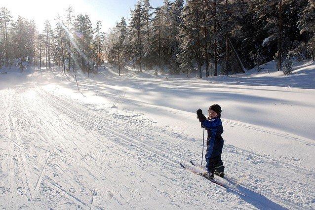 Der Winter in Norwegen ist toll für Familienferien © Arendal Tourist Office